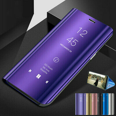 Fr Samsung Galaxy Note 10 Plus 5G Luxury Smart Mirror View Flip Stand Case Cover