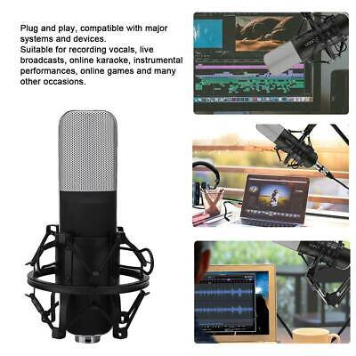 Condenser Microphone Studio Pop Filter Boom Scissor Arm Stand Shock Mount Mic