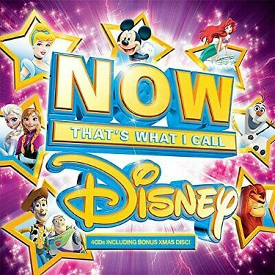 NOW That's What I Call Disney - 4 CD Box Set incl Xmas Disc (SEALED / BRAND NEW)