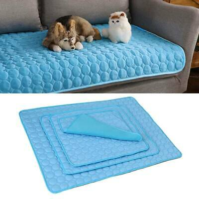 Pet Cool Gel Mat Dog Cat Bed Non-Toxic Cooling Dog Summer Pad 4 Sizes Dog Bed