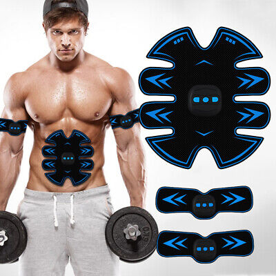 Rechargeable Simulator EMS Training Smart Body Abdominal ABS Muscle Exerciser