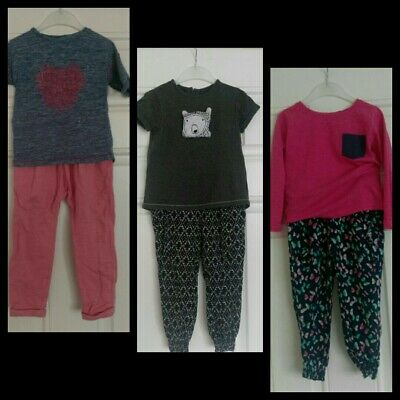 Girls outfits Bundle tops and trousers Next,Primark 2-3 Years
