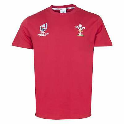 Rugby World Cup 2019 Wales Rugby World Cup Supporters T-Shirt - Red