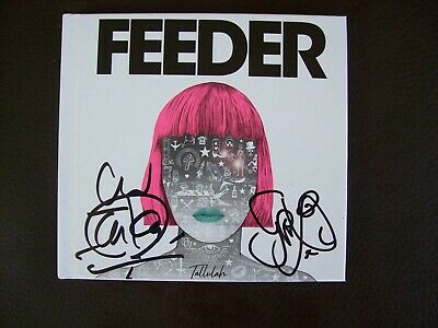 Feeder - Tallulah Deluxe CD - Signed Edition Brand New