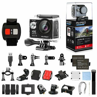 AKASO EK7000 Ultra HD 4K Sports Action Camera WIFI 12MP DV Camcorder Waterproof