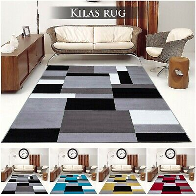 Modern Small Large Shaggy Rug Soft Thick High Pile Living Room Bedroom Floor Rug
