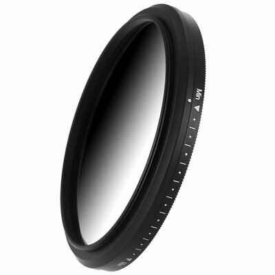 72mm Fader Variable ND Filter Neutral Density ND2 ND4 ND8 ND16 To ND400 Len U5O5