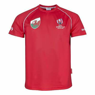 Rugby World Cup 2019 Wales Rugby World Cup Country T-Shirt - Red
