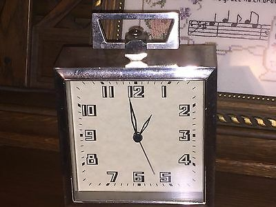 Vintage RARE Pottery Barn Square Clock - AS IS