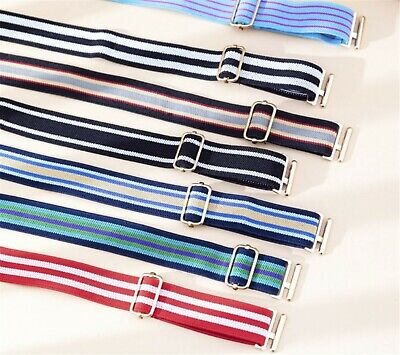 Boys Kids Children Sports Casual Elastic Adjustable Pants Easy Hook Buckle Belt