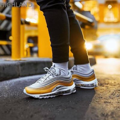 Nike Air Max 97 SE Metallic Vast Grey Gold White Silver Girls Women's Trainers