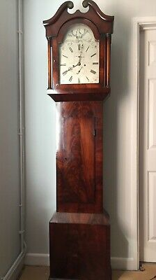 Salisbury Mahogany Longcase Grandfather Clock