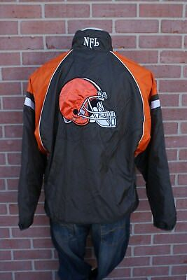 Vintage G-III Apparel Cleveland Browns Reversible Jacket Size M