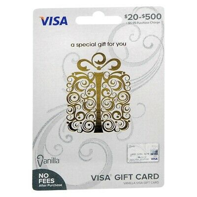 Multi Amount Gift Card - No Fees After Purchase - Non reloadable Ships Free