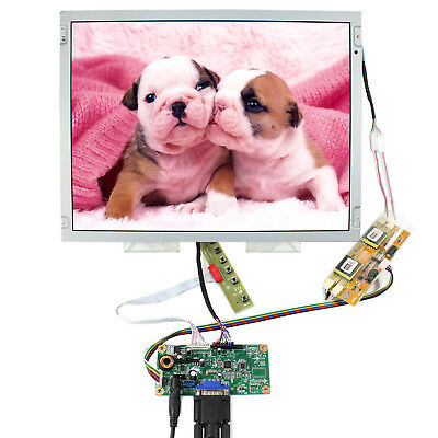 VGA LCD Controller board with 15 inch 1024x768 LCD Display Panel LQ150X1LW73