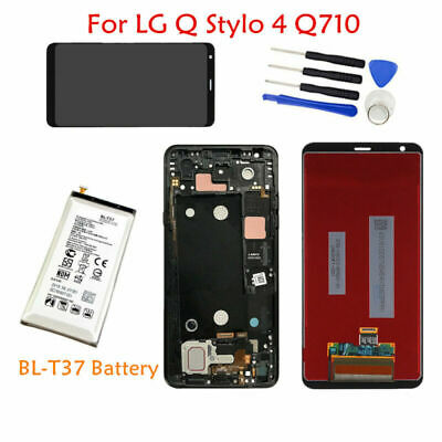 BL-T37 Battery + LCD Screen Touch Digitizer (+ Frame) 6.2'' For LG Stylo 4 Q710