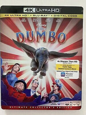 Dumbo - Ultimate Collectors Edition - 4K UHD Blu-Ray - 2019 - BRAND NEW