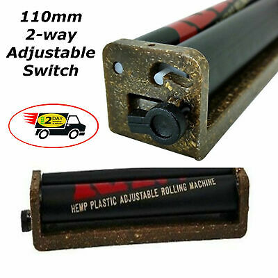 2 Way Adjustable 110mm Fast Joint Roller Machine Cigar Cigarette Weed King Size