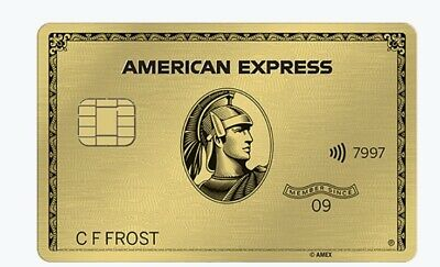 Amex American Express Metal Gold card Referral 40k points+ extra $55 from me