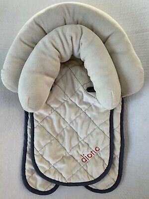 Diono Head Support 2 In 1 Beige Travel Car Seat
