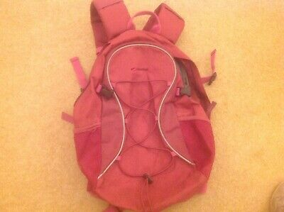 Girls pink mountain life rucksack