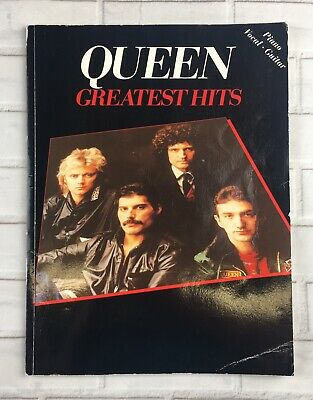 Queen - Official Vintage Greatest Hits Sheet Music Book (1981) - Mega Rare
