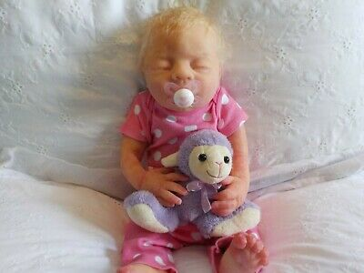 Full Body Silicone Baby Girl 18 inch Ecoflex 20