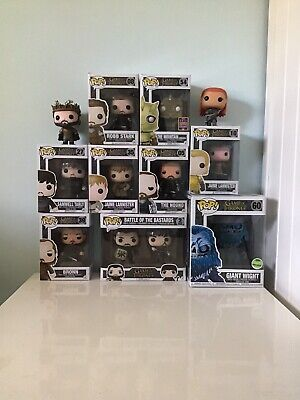 funko pop game of thrones lot (vaulted,grails, Varying In Condition
