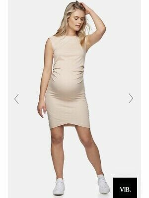bae the label Maternity Dress BNWT All Or Nothing Maternity Dress Nude Size L