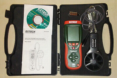 Extech HD300 Thermo-Anemometer with IR Thermometer