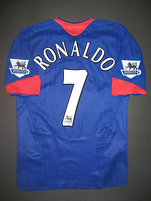 half off 431d9 9e9d4 2005-2006 NIKE MANCHESTER United Cristiano Ronaldo Jersey Shirt Portugal  Madrid