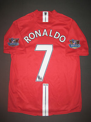 competitive price c7124 d2058 2007-2009 NIKE MANCHESTER United Cristiano Ronaldo Jersey Shirt Kit Real  Madrid