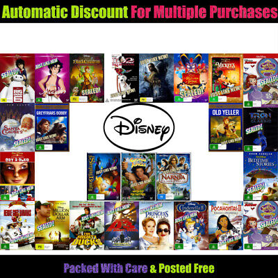 Your Choice of 🔹 NEW OR AS NEW DISNEY DVD TITLES 🔹 Updated 08/10/19