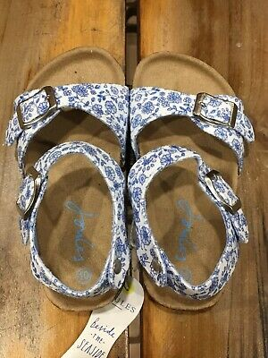 Girls Joules Folkstone Ditzy Tippy Toes Sandal US Size 11 UK Size 10 NWOB