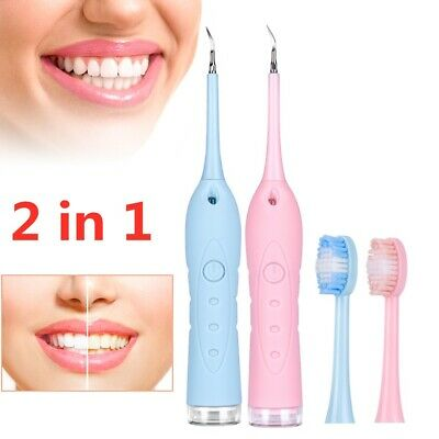 Dental Sonic Ultrasonic Scaler Tooth Whitening Cleaning Tartar Plaque Remover