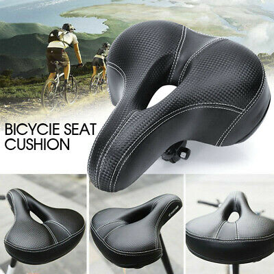 Road MTB Mountain Bike Bicycle Saddle Spring Seat Soft Padded Cushion Cover VIC