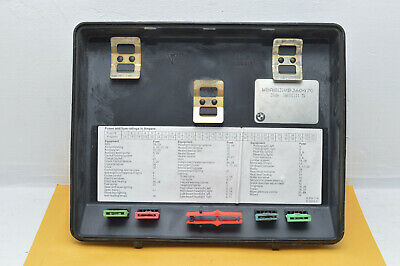 1995 Bmw 540I Rear Seat Fuse Box Cover Lid Seal Diagram Housing E34 5 Series