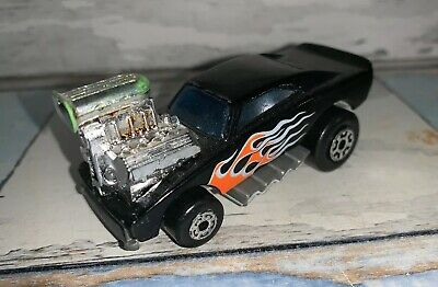 MATCHBOX SUPERFAST #41 BLACK COSMIC BLUES HEMI CHARGER