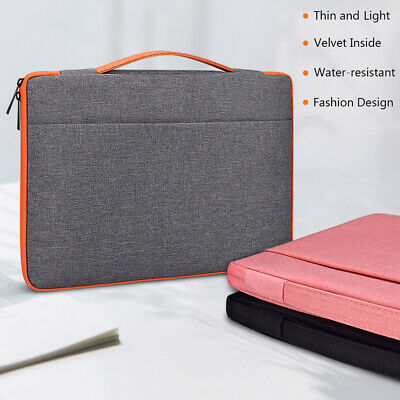 Capacity Pouch Bag Notebook Cover Sleeve Case Laptop For MacBook HP Dell Lenovo