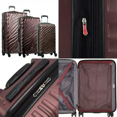 """Delsey Paris Luggage Alexis 3-Piece Spinner Hardside Luggage Set (21""""/25""""/29"""")"""