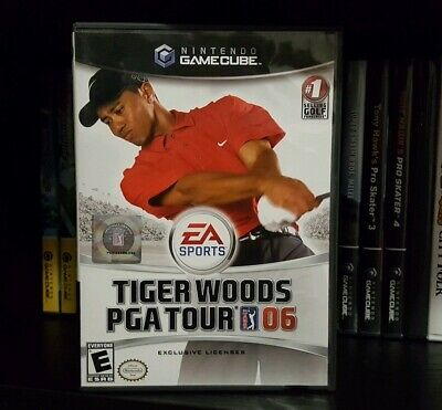 Tiger Woods PGA Tour 06 (Nintendo GameCube, 2005) FREE SHIPPING CANADA