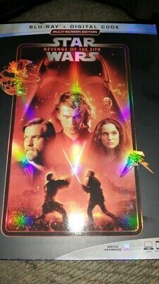 Star Wars: Episode III Revenge Of The Sith (Blu-Ray with slipcover) NO DIGITAL
