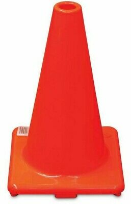 2x Guardall SAFETY CONES GASFC300D 300mm Day ORANGE