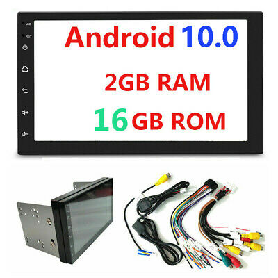 Android 9.1 Double 2Din 7inch InDash Car No DVD Radio Stereo WiFi GPS 2+16GB