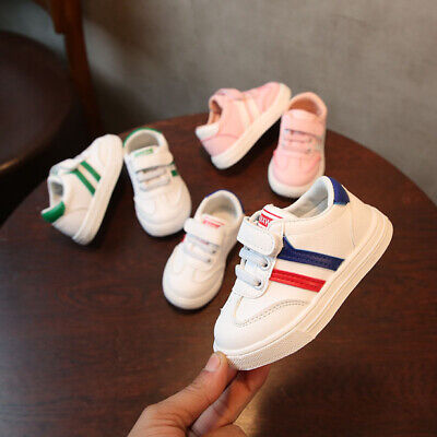 Kids Boys Girls Casual Shoes Infant Toddler Shoes Baby Children Trainer Sneakers