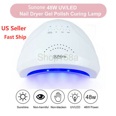 Sunone LED Nail Dryer Pro 48W UV Gel Polish Lamp Light Curing Manicure Tool USA
