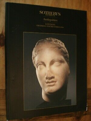 Sotheby's London Catalogue-Antiquities, (Thursday 8th December 1994)