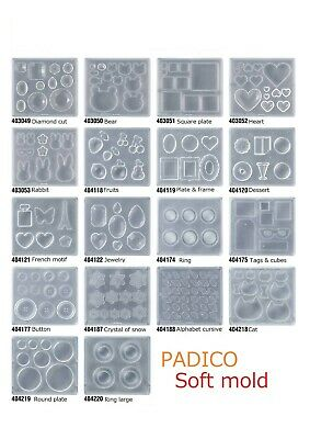 PADICO Soft mold Series Resin Mold Japan Import Transparent resin (UV resin)