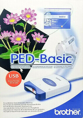 Brother PED-Basic Reader w/ 4M Card and Software for Embroidery Designs