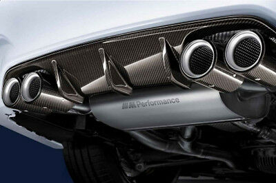 Genuine BMW Performance M3/M4 F80/F82/F83 Exhaust with Carbon Tips 18302349921